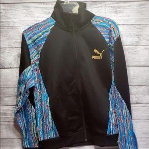 New! womens Puma X Coogi Track Jacket size M
